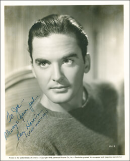 RILEY HILL - AUTOGRAPHED SIGNED PHOTOGRAPH