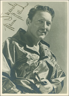 WARREN WILLIAM - AUTOGRAPHED SIGNED PHOTOGRAPH
