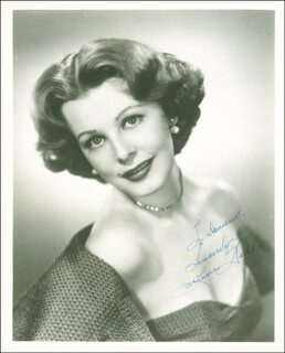 ARLENE DAHL - AUTOGRAPHED INSCRIBED PHOTOGRAPH