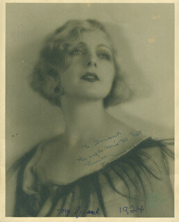 EDNA MURPHEY - AUTOGRAPHED INSCRIBED PHOTOGRAPH CIRCA 1924