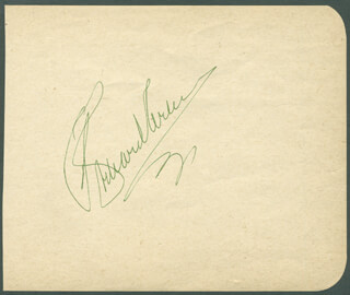 Autographs: RICHARD ARLEN - SIGNATURE(S)