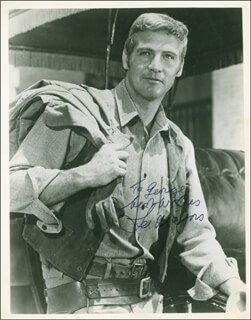 LEE MAJORS - AUTOGRAPHED INSCRIBED PHOTOGRAPH