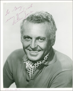 ALLAN JONES - AUTOGRAPHED INSCRIBED PHOTOGRAPH 12/25/1962