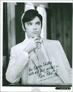 REX REED - AUTOGRAPHED INSCRIBED PHOTOGRAPH