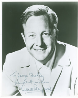 GENE RAYMOND - AUTOGRAPHED INSCRIBED PHOTOGRAPH