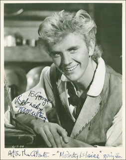TERENCE STAMP - AUTOGRAPHED INSCRIBED PHOTOGRAPH