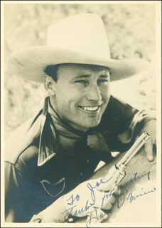 DAVE O'BRIEN - AUTOGRAPHED INSCRIBED PHOTOGRAPH