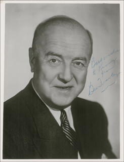 WILLIAM FRAWLEY - AUTOGRAPHED INSCRIBED PHOTOGRAPH