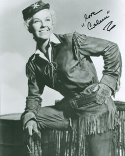 DORIS DAY - PHOTOGRAPH SIGNED IN CHARACTER