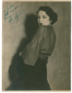 BEBE DANIELS - AUTOGRAPHED INSCRIBED PHOTOGRAPH