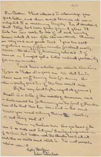 JOHN STEINBECK - AUTOGRAPH LETTER SIGNED 12/17