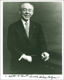 RICHARD RODGERS - AUTOGRAPHED INSCRIBED PHOTOGRAPH