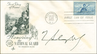 GENERAL H. NORMAN SCHWARZKOPF - FIRST DAY COVER SIGNED