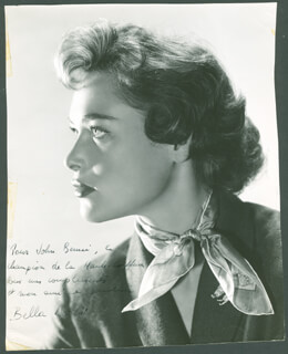 BELLA DARVI - AUTOGRAPHED INSCRIBED PHOTOGRAPH