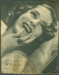 NORMA SHEARER - AUTOGRAPHED INSCRIBED PHOTOGRAPH