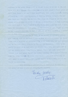 DEBORAH KERR - TYPED LETTER SIGNED 06/24/1974
