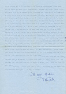 DEBORAH KERR - TYPED LETTER SIGNED 05/02/1974