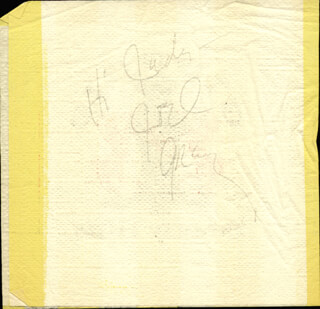 JOEL GREY - INSCRIBED SIGNATURE