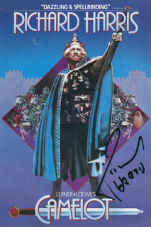 RICHARD HARRIS - ADVERTISEMENT SIGNED