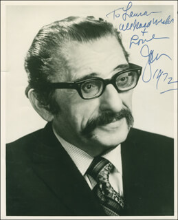 JAN PEERCE - AUTOGRAPHED INSCRIBED PHOTOGRAPH 1972