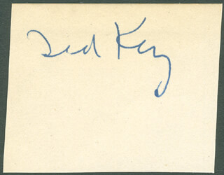 TED KEY - AUTOGRAPH
