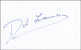 Autographs: DICK (RICHARD STANLEY) FRANCIS - SIGNATURE(S)