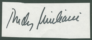 MAYOR RUDOLPH RUDY GIULIANI - AUTOGRAPH
