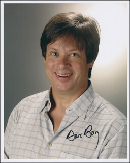 DAVE BARRY - AUTOGRAPHED SIGNED PHOTOGRAPH