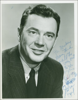 JOHN BEAL - AUTOGRAPHED INSCRIBED PHOTOGRAPH
