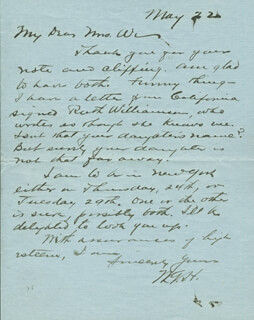 Autographs: WARREN G. HARDING: ARCHIVE OF PERSONAL LETTERS AND MEMORABILIA