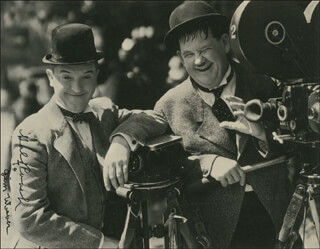 HAL ROACH SR. - AUTOGRAPHED INSCRIBED PHOTOGRAPH