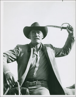 CHUCK CONNORS - PHOTOGRAPH UNSIGNED