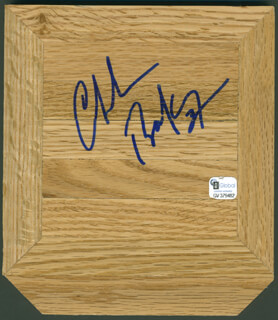 Autographs: CHARLES SIR CHARLES BARKLEY - EPHEMERA SIGNED
