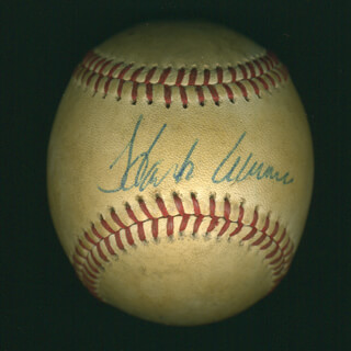 Autographs: HANK AARON - BASEBALL SIGNED CO-SIGNED BY: WILLIE STARGELL