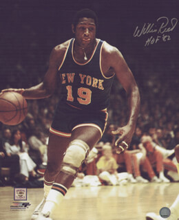 WILLIS REED - AUTOGRAPHED SIGNED PHOTOGRAPH