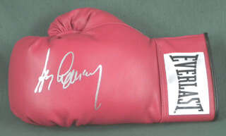 GERRY COONEY - BOXING GLOVE SIGNED