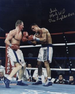 MICKY WARD - AUTOGRAPHED SIGNED PHOTOGRAPH