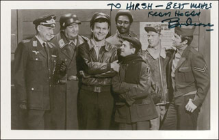 BOB CRANE - AUTOGRAPHED INSCRIBED PHOTOGRAPH
