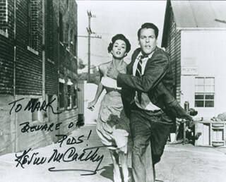 KEVIN McCARTHY - AUTOGRAPHED INSCRIBED PHOTOGRAPH