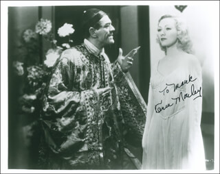 KAREN MORLEY - AUTOGRAPHED INSCRIBED PHOTOGRAPH