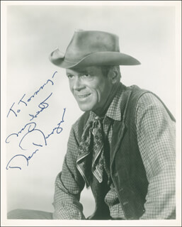 DAN DURYEA - AUTOGRAPHED INSCRIBED PHOTOGRAPH