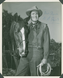 WILL ROGERS JR. - AUTOGRAPHED SIGNED PHOTOGRAPH