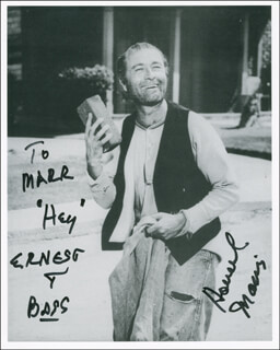 HOWARD MORRIS - AUTOGRAPHED INSCRIBED PHOTOGRAPH