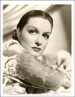 GAIL PATRICK - AUTOGRAPHED INSCRIBED PHOTOGRAPH CIRCA 1937