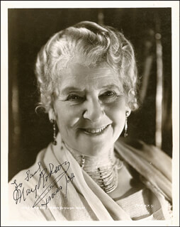 MAY ROBSON - AUTOGRAPHED INSCRIBED PHOTOGRAPH CIRCA 1934