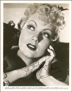ANN SOTHERN - AUTOGRAPHED INSCRIBED PHOTOGRAPH CIRCA 1935