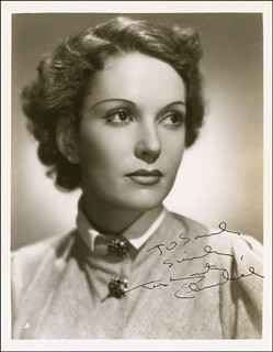MARGUERITE CHURCHILL - AUTOGRAPHED INSCRIBED PHOTOGRAPH CIRCA 1936