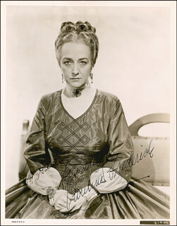 PAULINE FREDERICK - AUTOGRAPHED INSCRIBED PHOTOGRAPH CIRCA 1937