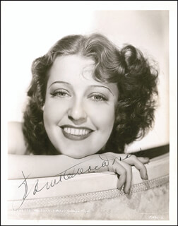 JEANETTE MacDONALD - AUTOGRAPHED SIGNED PHOTOGRAPH CIRCA 1935