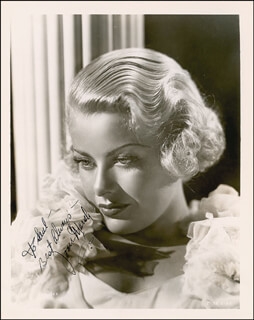 JOAN MARSH - AUTOGRAPHED INSCRIBED PHOTOGRAPH CIRCA 1935